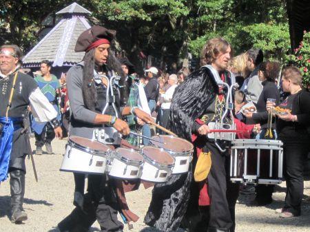 Pirate Percussionists